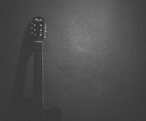 black and white, music, and grunge image