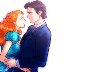 couple, disney, and enchanted image
