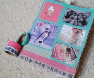 diy, frozen, and notebook image