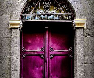 purple door image