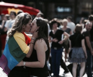 couple, lgbt, and love image