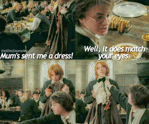 dress, ron weasley, and funny image