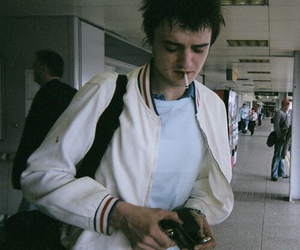 guy, pete doherty, and cigarette image