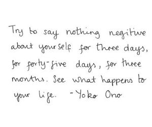quote, life, and Yoko Ono image