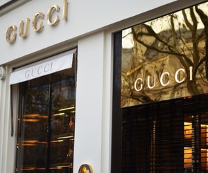 gucci, luxury, and shop image