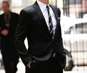 matt bomer, suit, and sexy image