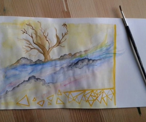 aquarell, indie, and paint image