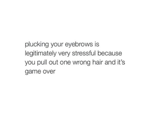 beauty, eyebrows, and funny image