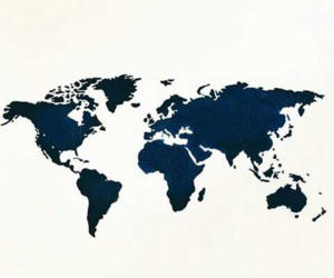 world and map image