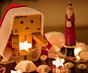 christmas, light, and box image