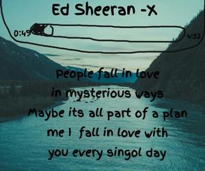 ed sheeran, thinking out loud, and music image