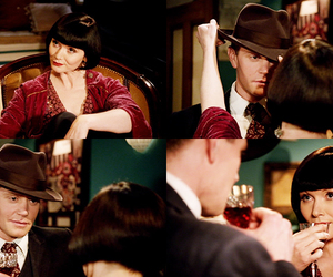 jack robinson, miss fisher, and phryne fisher image