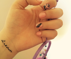 dreams, nail art, and nails image