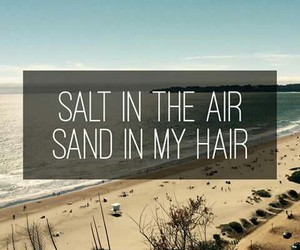 sand, summer, and beach image