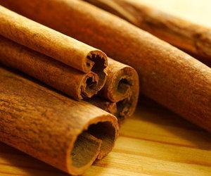autumn and cinnamon sticks image