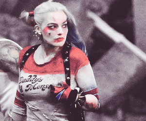 DC, harley quinn, and margot robbie image