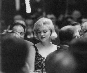 actress, b&w, and Marilyn Monroe image