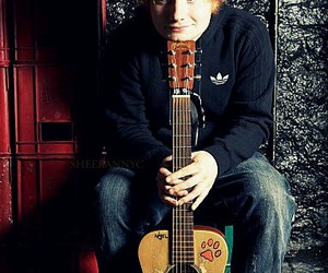 ed sheeran, music, and guitar image