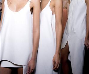 backstage, fashion, and models image
