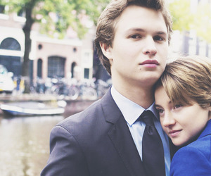book, hazel, and the fault in our stars image