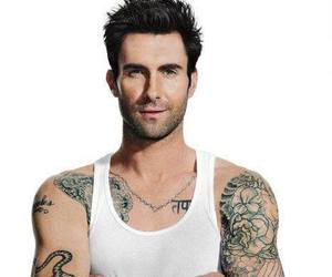Hottie, maroon 5, and tattos image