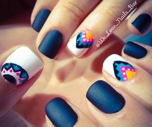 nails, cool, and nail art image