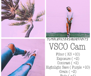 pink and vsco image