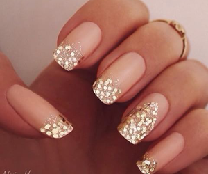glitters, nails, and ongles image