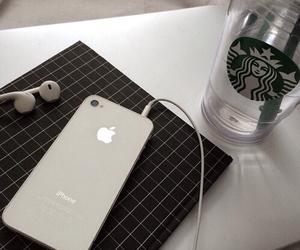 black, dark, and iphone image