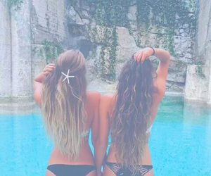 tumblr, beach, and best friends image