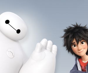 hiro, big hero 6, and baymax image