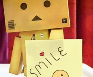 smile, cute, and danbo image