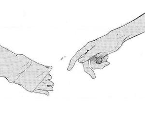 hands and manga image