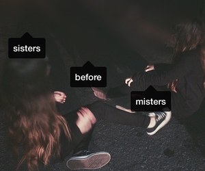 sisters, girls, and friends image
