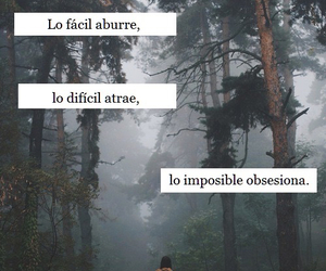 frases, impossible, and facil image
