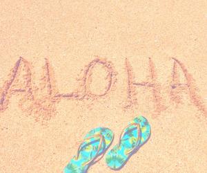 Aloha and summer image