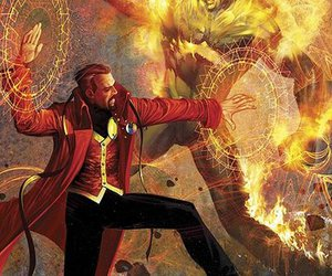 hero, dr.strange, and magic image