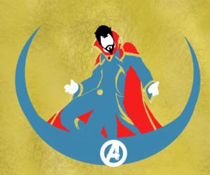 Avengers, blue, and hero image