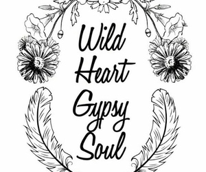 gypsy, soul, and wild image