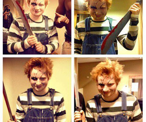 ed sheeran, Chucky, and ed image