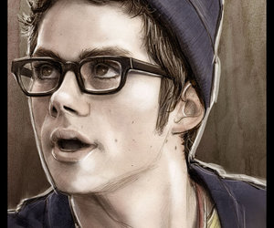 the internship, dylan o'brien, and drawing image