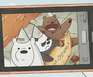 we bare bears, bears, and panda image