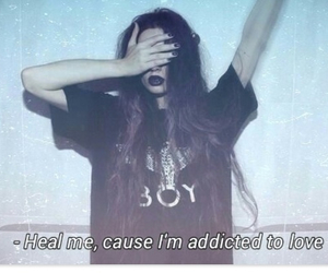 grunge, love, and addicted image