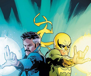 hands, heroes, and iron fist image