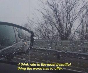 rain, grunge, and beautiful image