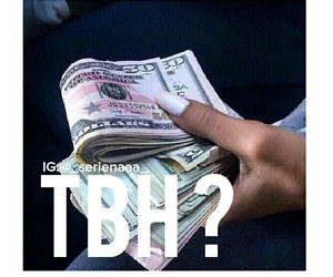 money and tbh image