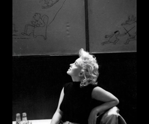 girl, marilyn, and love image