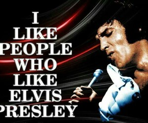 Elvis Presley, king, and quote image