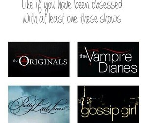 gossip girl, The Originals, and the vampire diaries image