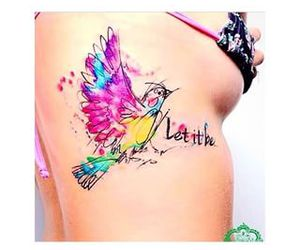 bird, color, and let it be image